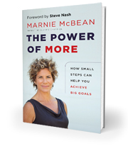 Marnie McBean The Power of More book