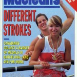 Macleans Cover of Marnie McBean and Kathleen Heddleson