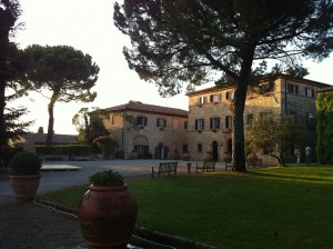 our home while in Tuscany