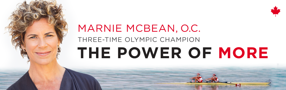 Marnie McBean / The Power of More