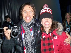 Was pretty happy to say hi to Steve behind the scene at the Vancouver 2010 Opening Ceremony. Later he would be one of final 4 who would light the Olympic Cauldron