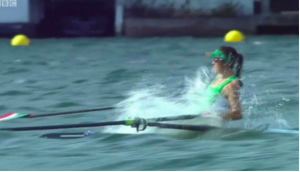 Hard to call this Olympic racing - certainly not a rowing anyway